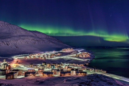 The urban capital of Greenland. Photo: Carlo Miki Lukassen.