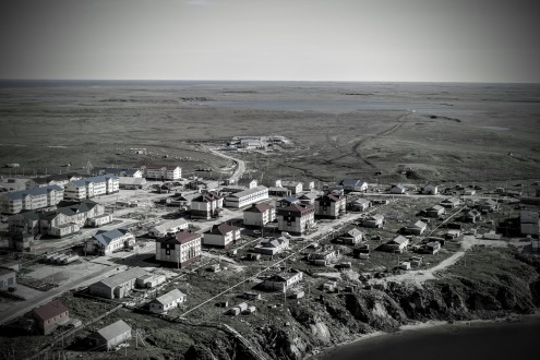 The town Seyakha in the Arctic tundra of Yamal (Photo: Dorothee Ehrich).